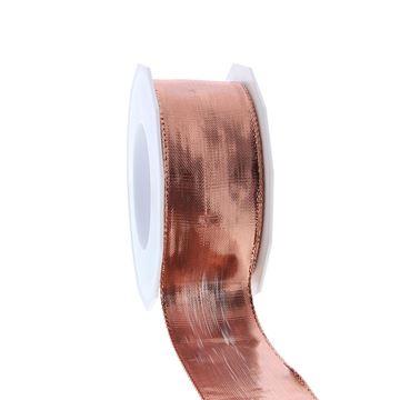 Lint Devon 40 mm x 20 m rosé goud kleur 344