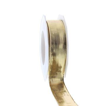 Lint Devon 25 mm x 20 m goud kleur 734