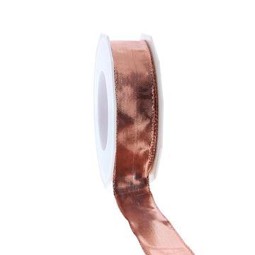 Lint Devon 25 mm x 20 m rosé goud kleur 344