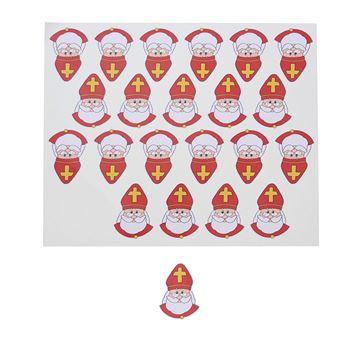 Sticker blinkend Sint City figuur KM