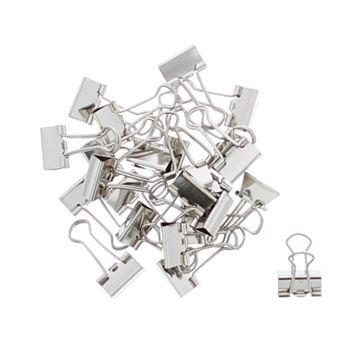 Metalen clip zilver