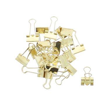 Metalen clip goud