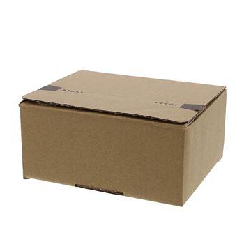 Pack box  XS 160 x 130 x 70 mm kraft met kleef- en scheurstrip
