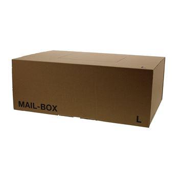Mail box L 395 x 248 x 143 mm kraft