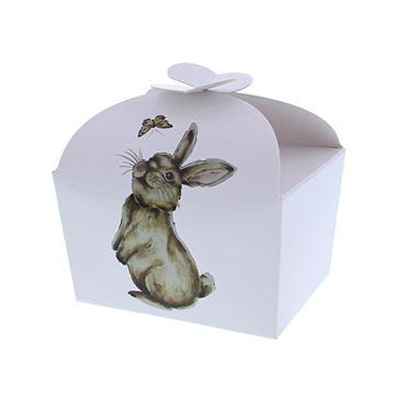 Doos vlindersluiting 250 gr. konijn Muffin