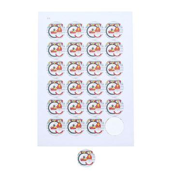 Sticker 4 cm Sint Party
