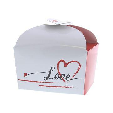 Doos vlindersluiting 500 gr. Love Heart