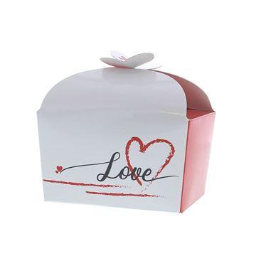 Doos vlindersluiting 250 gr. Love Heart