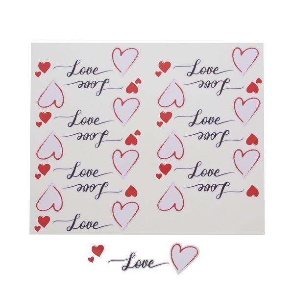 Sticker blinkend Love Heart KM