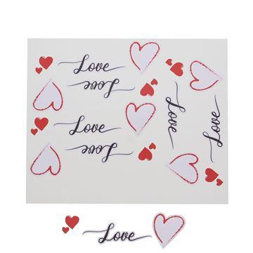 Sticker blinkend Love Heart GM