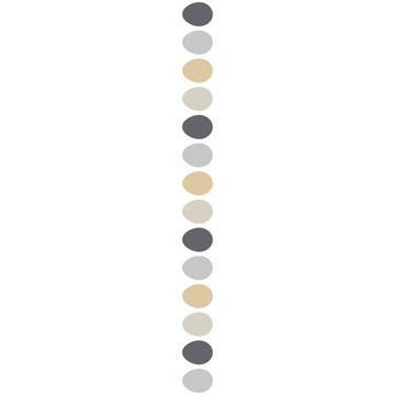 OB Banner ei grijs - aardetinten 25 x 245 cm