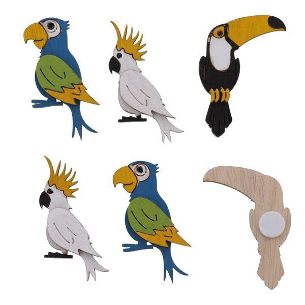 Birds Exotica met klever