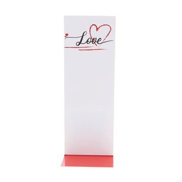J-karton Love Heart 77 x 50 + 215 mm