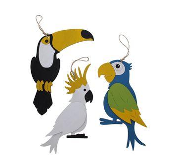 Birds Exotica deco hanger GM
