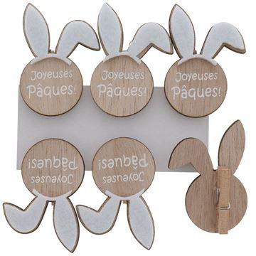 Bunny Ears Joyeuses Pâques speld