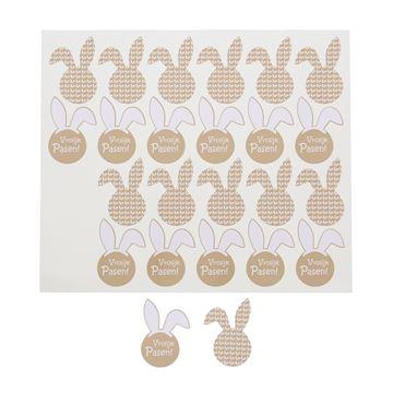 Sticker blinkend Bunny Ears Vrolijk Pasen KM