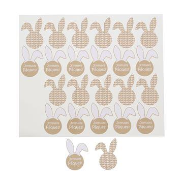 Sticker blinkend Bunny Ears Joyeuses Pâques KM