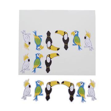 Sticker blinkend Birds Exotica GM
