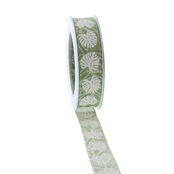 Lint Madagascar 25mmx20m kleur groen 54