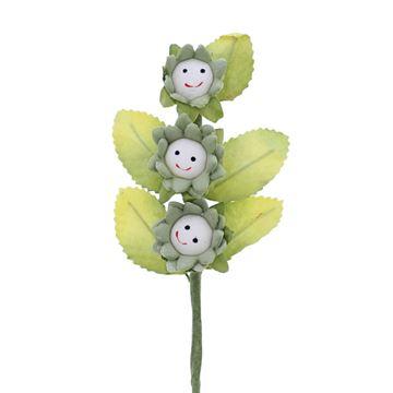 Smile 3 bloemen groen