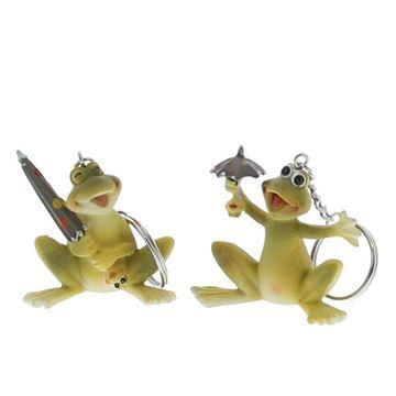 """Kikker """"Froggy"""" sleutelhanger"""
