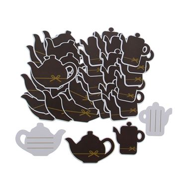 Label Goldy chocolate koffiekan en theepot