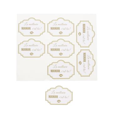 Sticker blinkend Sparkle maman GM