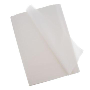 Image de Papier de soie 50 x 70cm blanc    W