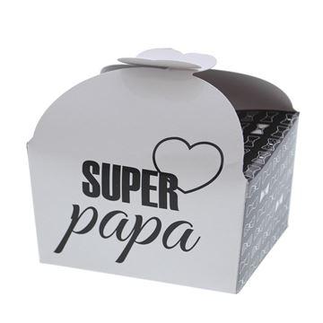 """Doos vlindersluiting 250 gr. papa """"Papion"""""""