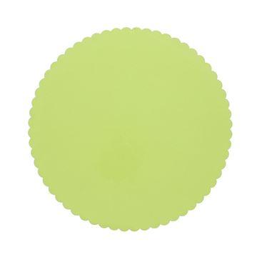 Cello rond 24 cm licht groen 10 O06