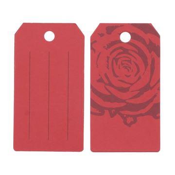 "Label ""Rose"" rood KM"