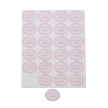 """Sticker blinkend """"Voor de liefste mama"""" ovaal KM"""