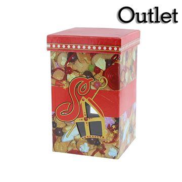 Vierkante doos hoog model snoepjes