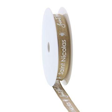 Lint ijzerdraad Sint Vintage puff 15mm x 20m kleur 460 goud Frans