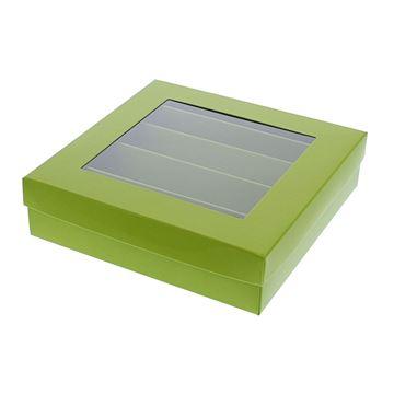 Bucabox 16 5 rijen groen