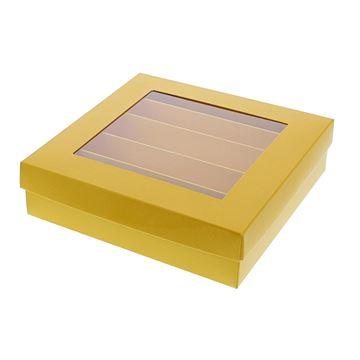 Bucabox 16 5 rijen geel