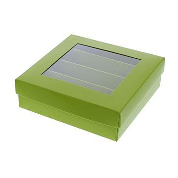 Bucabox 13 4 rijen groen