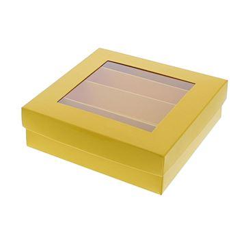 Bucabox 13 4 rijen geel