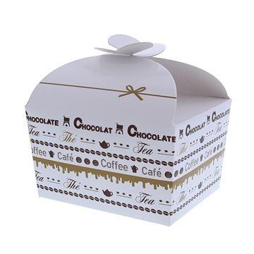 Doos vlindersluiting 500 gr. Goldy chocolate