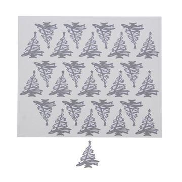 Sticker blinkend Tree-O dennenboom grijs KM