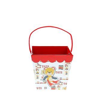 Toys 3 figuren bakje met oor vierkant